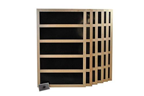 Infrared Sauna Heater Package With Mechanical Timer - 1800 WATT-240VAC