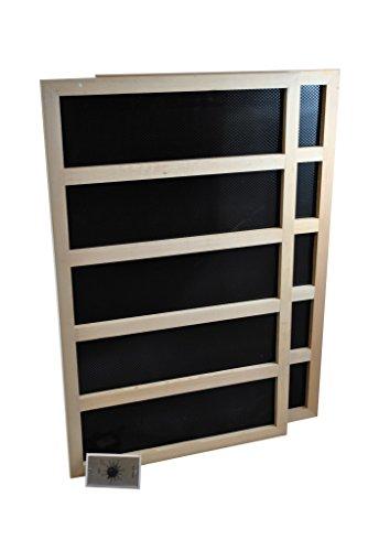 Infrared Sauna Heater Package With Mechanical Timer - 600 WATT-120VAC