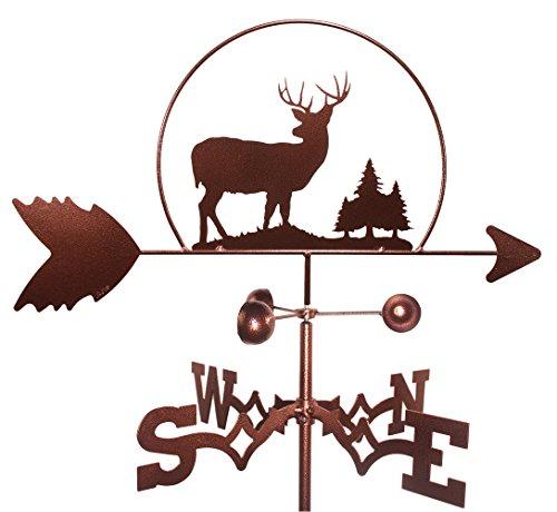 Deer Wildlife Weathervane Roof Mounted Included