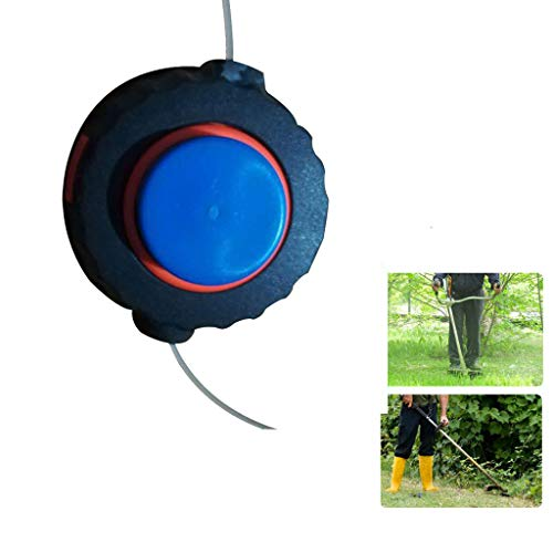 Kecar String Trimmer Bump Head Universal Plastic Grass Trimmer Garden Strimmer Lawn Mower Fitting Garden