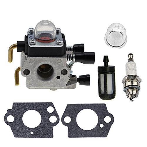Hipa Carburetor  Gasket Primer Fuel Filter Spark Plug for STIHL FS38 FS45 FS46 FS55 KM55 HL45 Trimmer