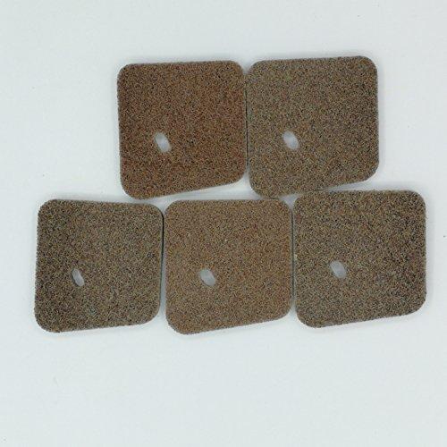 shiosheng 5 Pcs Air Filter for STIHL FC55 FS38 FS45 FS46 FS55 HL45 Weedeater Trimmer 4140 124 2800
