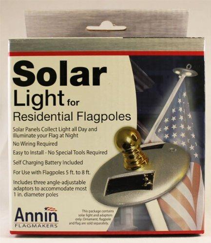 Annin Solar Light for Residential Flagpoles by Annin