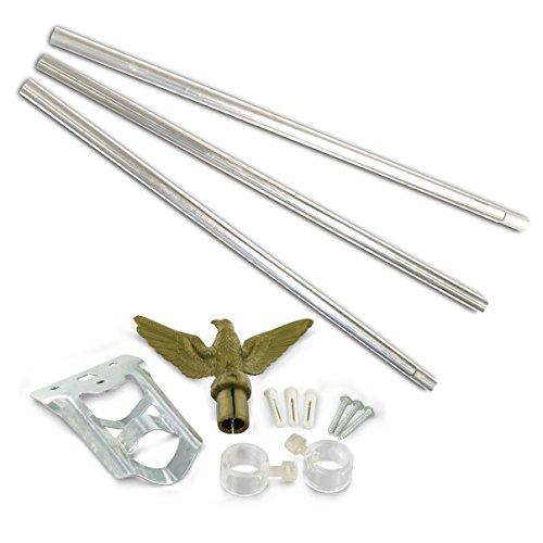 Residential Flagpole Set - Economy Kit 1 Each