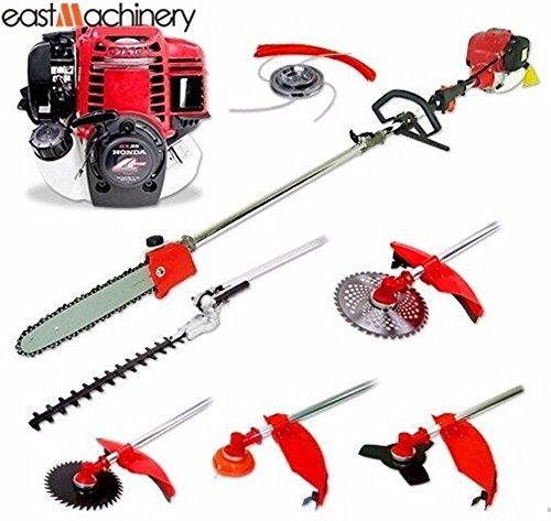 6 In 1 Gasoline Multi Garden Tools Brush Cutter Chainsaw Hedge Trimmer Honda Engine Gx35