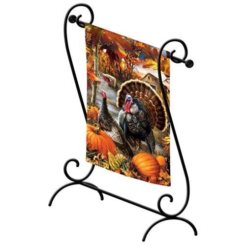 Estate Scroll Garden Flagpole