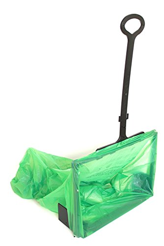 WideOpens Big-Bagger lets you Rake Sweep Shovel and more into an Open Plastic Trash Bag for Easy Cleanup