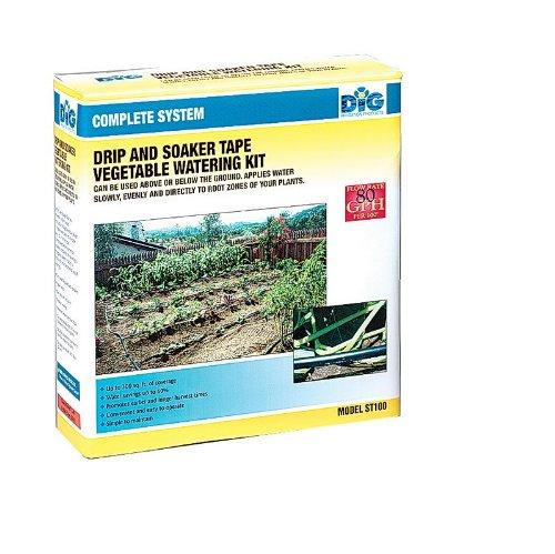 Dig St100as Dripamp Soaker Tape Vegetable Watering Kit