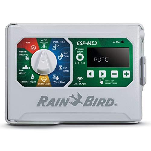 Rain-Bird Controller Indoor Outdoor Lawn Irrigation Sprinkler Timer ESPME3 Controller Only