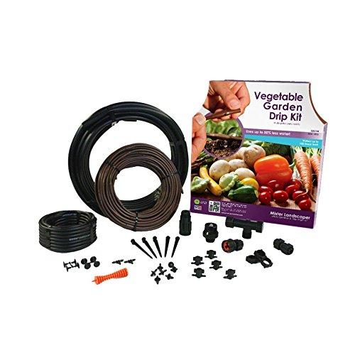 Mister Landscaper Mlk-veg Vegetable Garden Drip Irrigation Kit
