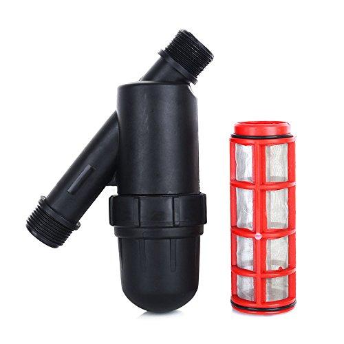 Estink Irrigation Filter34 Y Water Filter Strainer 120 PSI for Garden Greenhouse Agricultural Drip or Sprinkler Irrigation