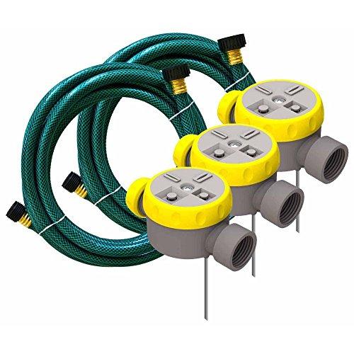 Nelson WM50182 RainScapes 5-Piece LawnYard Sprinkler Watering System Kit