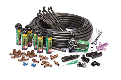 Rain Bird 32ETI Easy to Install In-Ground Automatic Sprinkler System Kit --PEWT43 65234R3FA307830