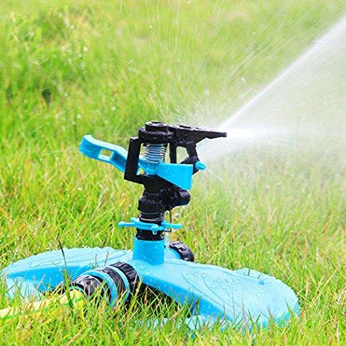 OVERMAL Water Sprinkler System Impulse Long Range Sprinklers For Garden And Lawn
