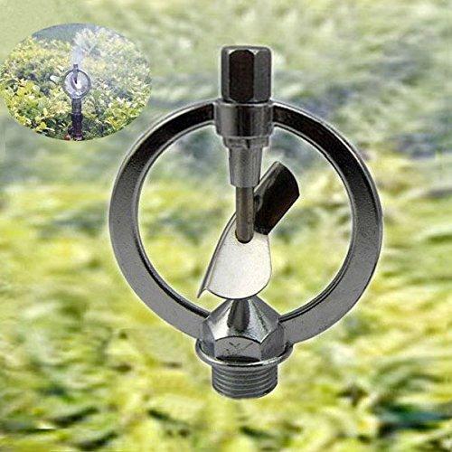 Alloy Autorotation Dished Rain Sprinkling Irrigation Nozzle