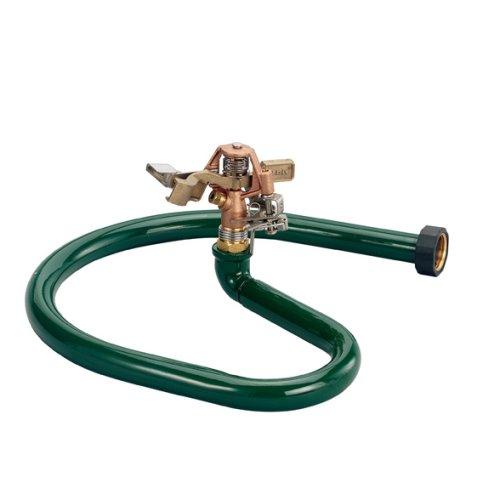 Orbit 58109 Lawnamp Garden 12-inch Brass Impact On-ring Base Sprinkler