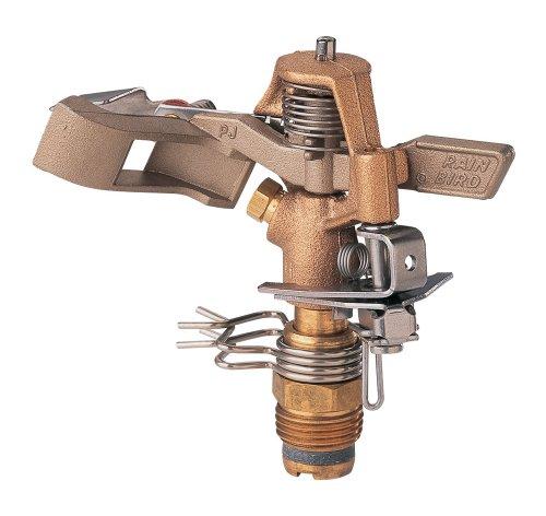 Rain Bird 25pjdac Brass Impact Sprinkler Adjustable 0&deg To 360&deg Pattern 20 - 41 Spray Distance