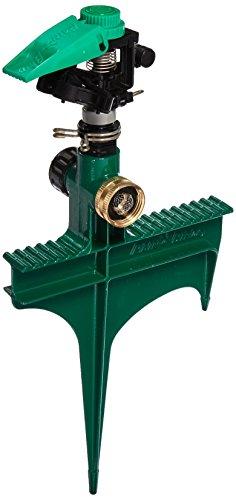 Rain Bird P5rlsp Plastic Impact Sprinkler On Large Metal Spike Adjustable 0&deg - 360&deg Pattern 20 - 38 Spray