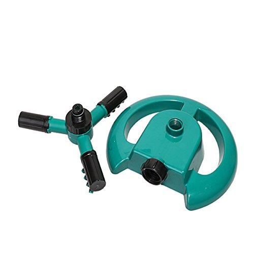 Lawn Sprinklerscircular Sprayer Durable Rotary Three Arm Water Sprinkler