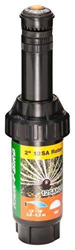 Rain Bird 12SAH20 2 Mini Rotary Pop-Up Sprinkler 180° Half Circle Pattern 12 - 18 Spray Distance