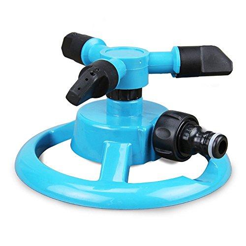"SUNREEKâ""¢ Mobile Automatic 360 Degree Rotary Spray Head Garden Lawn Sprinkler Irrigation Watering For Garden Greenhouse"