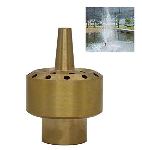 Brass Column Garden Square Fireworks Pool Pond Adjustable Fountain Nozzle Sprinkler Spray Head SSH327 34