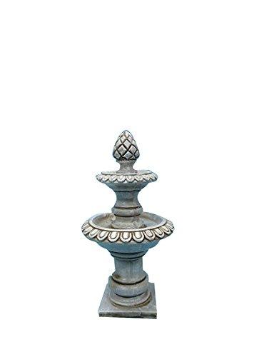 All Line Fairy Garden Stone Fountain Figurines
