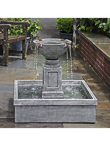 Campania International FT-277-AS Rittenhouse Fountain Alpine Stone Finish