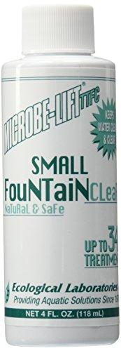 Ecological Labs 10ttfc4 Microbe Lift Small Fountain Clear 4-ounce