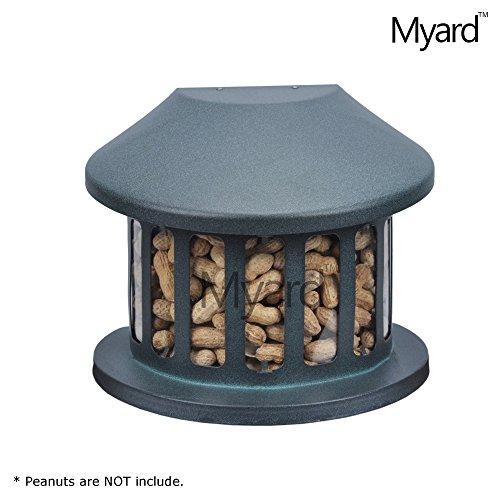Myard Metal Squirrel Peanut Corn Diner Feeder  MBF 75590 not for bird