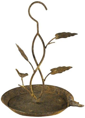 ZENTIQUE Rustic Metal Bird Feeder