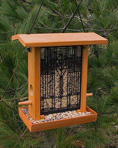 Frank Lloyd WrightR Art Glass Birdfeeder