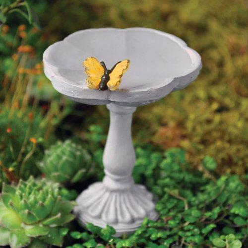 Fairy Garden Butterfly Birdbath