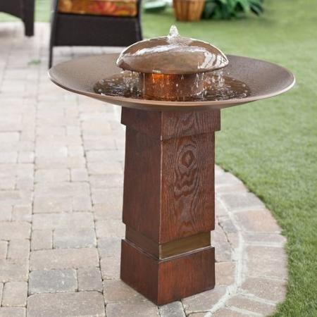 Kenroy Portland Sound Garden Water Outdoor Bird Bath Fountain