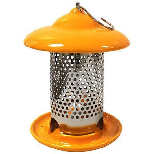 Heath Outdoor Products 20144 Bird Stop Ceramic Feeder Orange