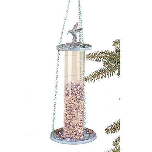 Birdfeeders Verdegris BrassPlastic Birdfeeder  Renovators Supply