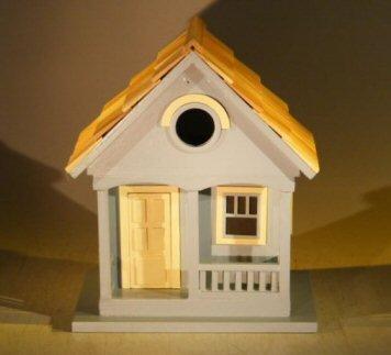 Bonsai Boys Architectural Birdhouse Feeder - Yellow West Coast Dweller