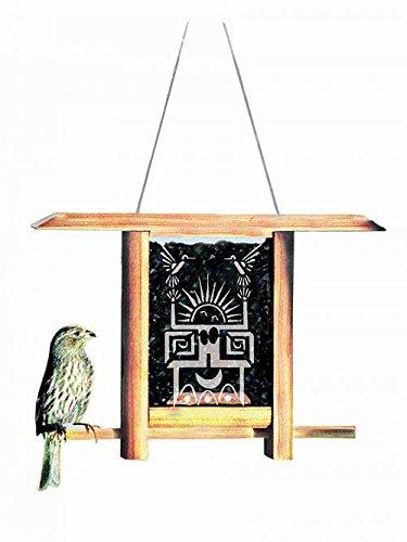 Schrodt Dancing Sun Teahouse Bird Feeder
