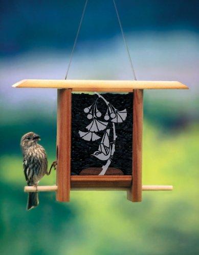 Schrodt Gingko Leaves Teahouse Bird Feeder