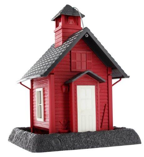 VILLAGE COLLECTION SCHOOL HOUSE BIRD FEEDER