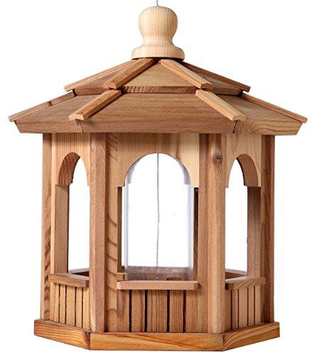 Bch Woodcrafters Cedar Gazebo Bird Feeder - 6 Sided Hexagon - 14&quot X 14&quot