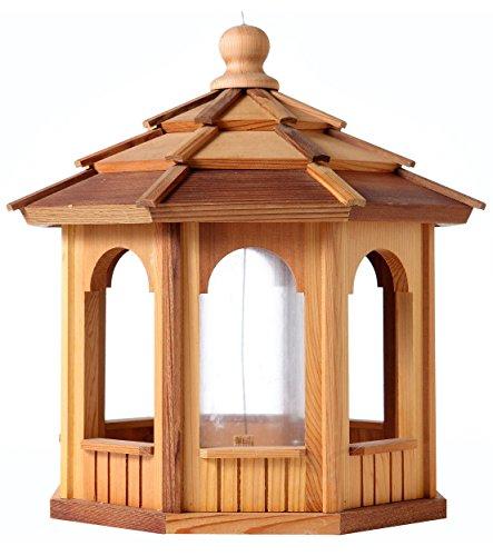 Bch Woodcrafters Cedar Gazebo Bird Feeder - 8 Sided Octagon 18&quot X 18&quot
