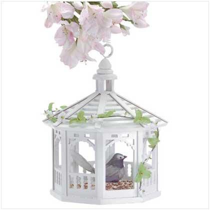 Sweet Pavilion Gazebo Bird Feeder