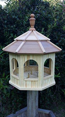 Wooden Gazebo Birdfeeder Large