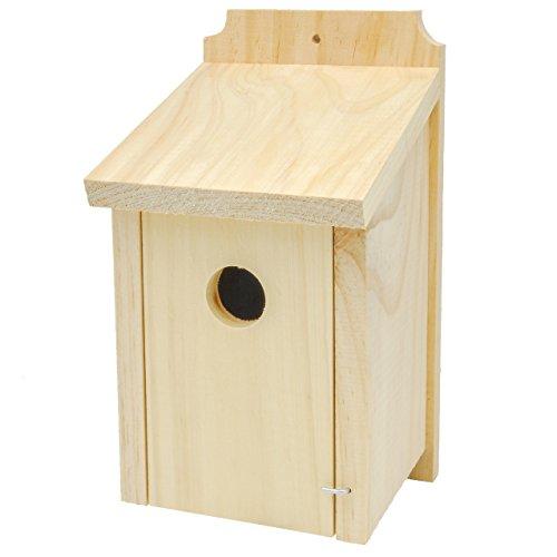 Gardirect Wild Bird Classic Nesting Box, Bird House For Blue Tit, Sparrow