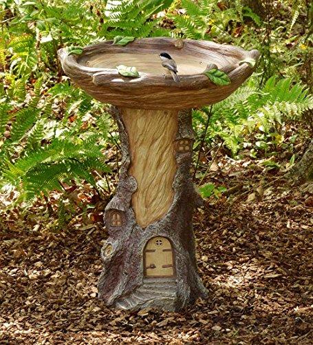 Full-Size Fairy Garden Birdbath