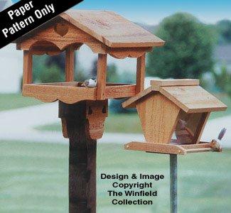 Bird Feeders Wood Patterns