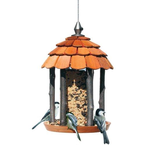 Birdscapes Wood Gazebo Feeder 50129 2 Lb Capacity
