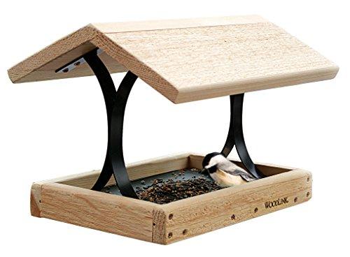 Woodlink Cedar Fly-thru Bird Feeder Cedar