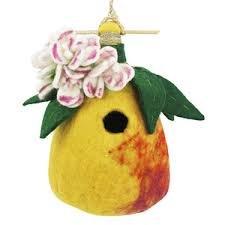Dzi Handmade Designs Dzi484024 Pear Felt Birdhouse
